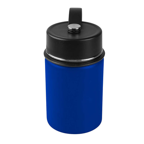 Tahoe Trails 12 oz Double Wall Vacuum Insulated Stainless Steel Water Bottle, Spectrum Blue
