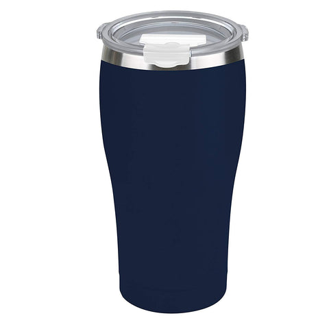 Tahoe Trails 30 oz Stainless Steel Tumbler Vacuum Insulated Double Wall Travel Cup With Lid, Dark Denim