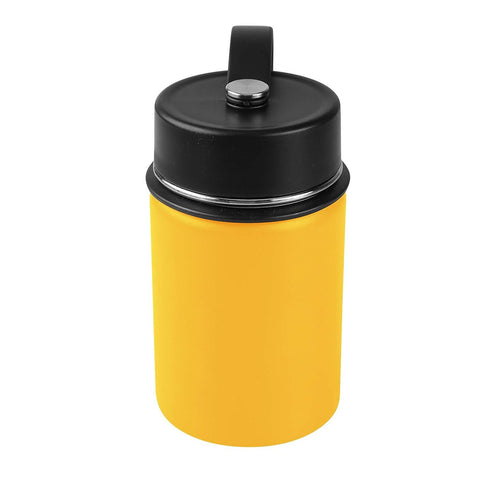 Tahoe Trails 12 oz Double Wall Vacuum Insulated Stainless Steel Water Bottle, Mango