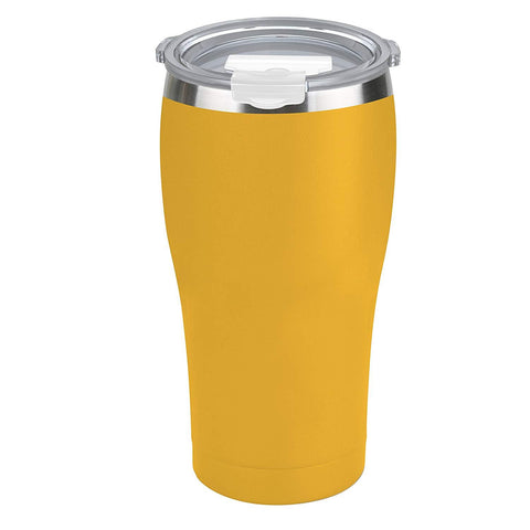 Tahoe Trails 30 oz Stainless Steel Tumbler Vacuum Insulated Double Wall Travel Cup With Lid, Mango