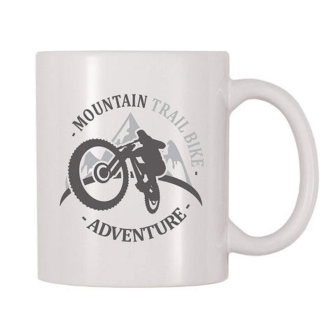 4 All Times Mountain Trail Bike Adventure Coffee Mug (11 oz)