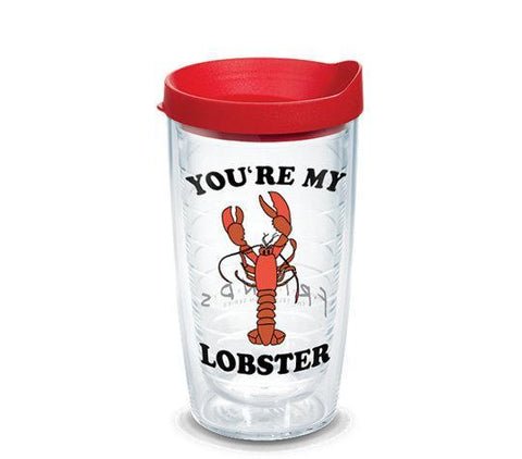 Friends 'You're My Lobster' 16 oz Double Wall Tumbler by Tervis (3-4 Week Production Time)