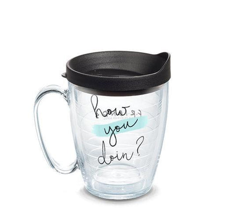 Friends 'How You Doin?' Mug Double Wall Tumbler by Tervis (3-4 Week Production Time)