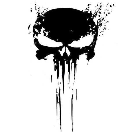 PUNISHER Car Decal