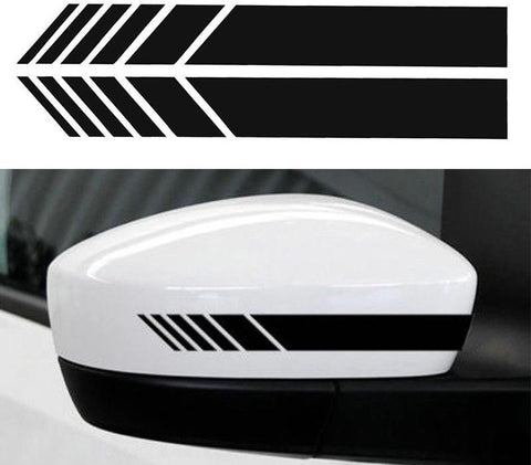 Car Mirror Stripe Decal