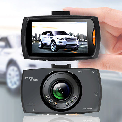 Full HD Wide-Angle Dash Camera