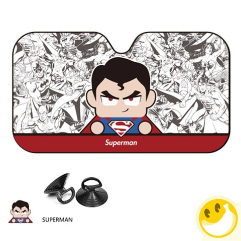 Comic Themed Windshield Sunshade Cover