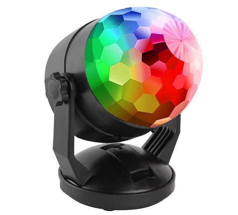 Battery Powered Portable Sound Activated Disco Party Light