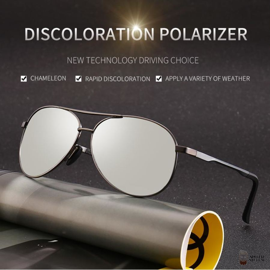 Special Stuff 2018 Pilot Photochromic Polarized Sunglasses $28.95 Free Shipping Specialstuff.se