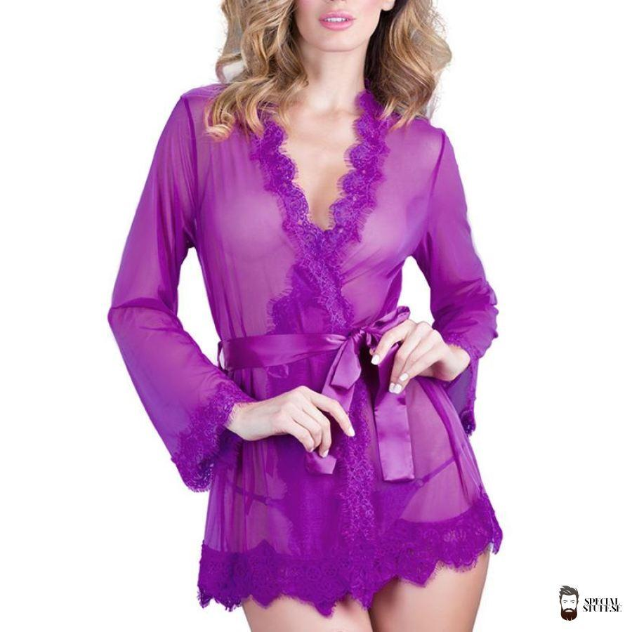 Special Stuff Sexy Kimono With G-String Babydolls & Chemises 2018 $12.90 Free Shipping Specialstuff.se