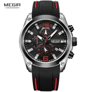 Special Stuff Sporty Chronograph Analog Quartz Watch Sports Watches 2018 $49.00 Free Shipping Specialstuff.se