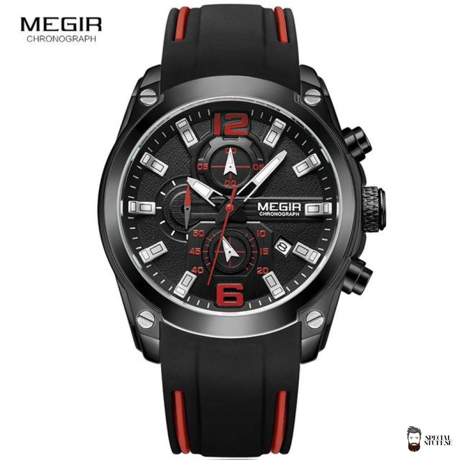 specialstuff sports watch sporty red strap analog watches se free men special hardware quartz shipping accessory stuff products new chronograph gifts