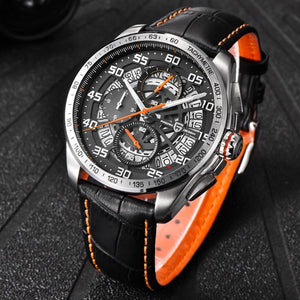 Special Stuff Waterproof Leather Quartz Chronograph Watches 2018 $149.00 Free Shipping Specialstuff.se Waterproof-Leather-Quartz-Chronograph