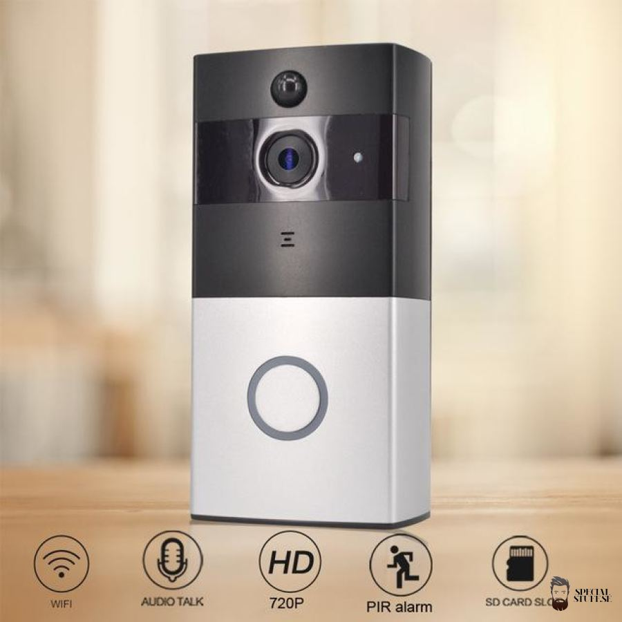Special Stuff Wireless Doorcamera Hd 720P Smart Accessories 2018 $95.38 Free Shipping Specialstuff.se Wireless-Doorcamera-Hd-720P New Deal