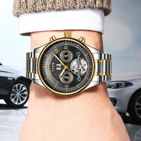 a watch sitting on top of a car