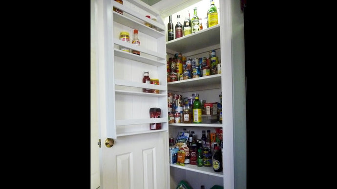 How to Make a Pantry Door Spice Rack by jmkyle (8 years ago)
