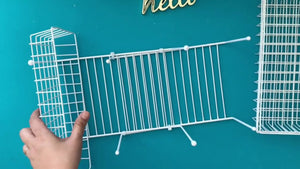 DOLLAR TREE DIY MULTIPURPOSE ORGANIZER Crafting & Others for Wall Tabletop or Over the Door for Less by LifeAt50&Beyond DIY (3 years ago)