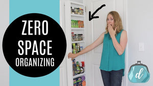HIDDEN STORAGE Kitchen & Bathroom Organizing Ideas! 💛 Perfect for Apartments and Renters by Do It On A Dime (3 years ago)
