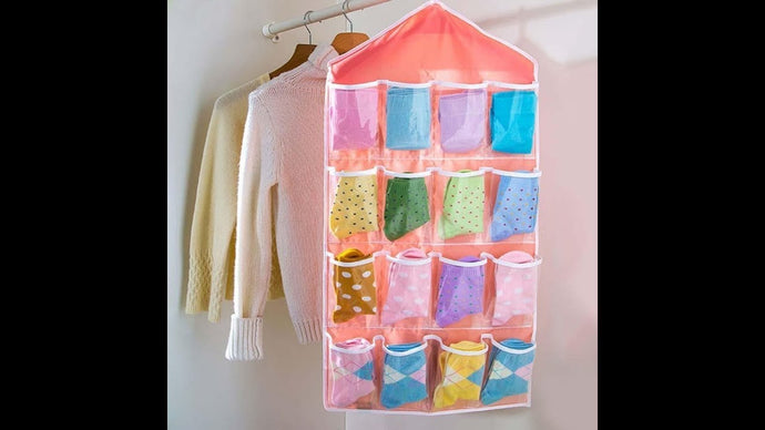 Pocket Door Hanging Organizer (DIY) by Sew with me (2 years ago)