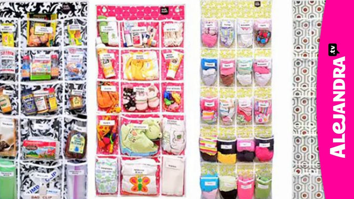 My Favorite Over the Door Organizers by Simply Stashed by Home Organizing by Alejandra.tv (9 years ago)