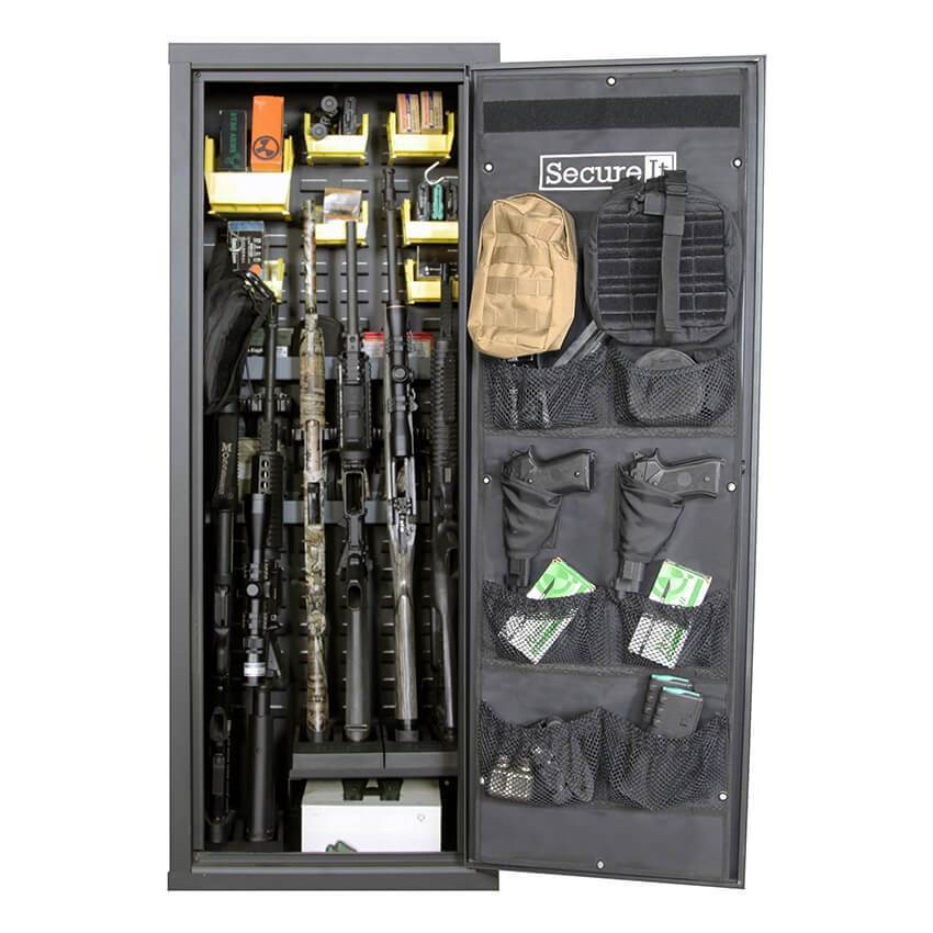 SecureIt AG-52KD-PRO-YLW Agile Model 52 PRO Ultralight Gun Safe System