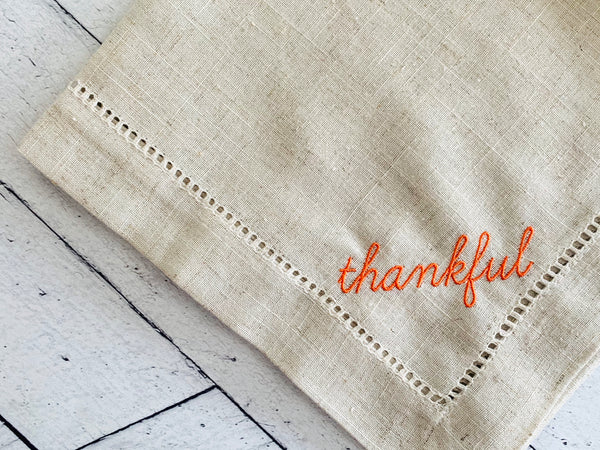 Thankful Cloth Napkins