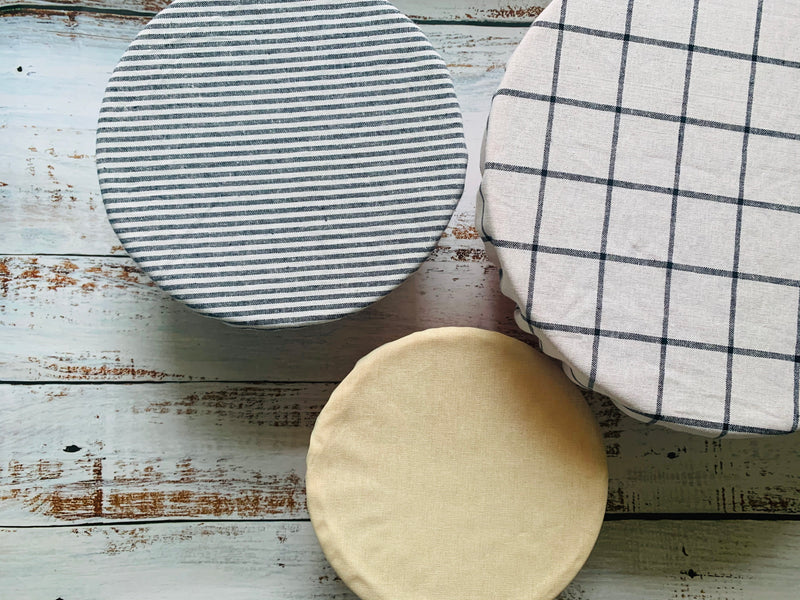 Reusable Bowl Covers- set of three- Classic Collection