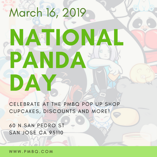 Celebrate National Panda Day 2019 with P.M.B.Q. Studios