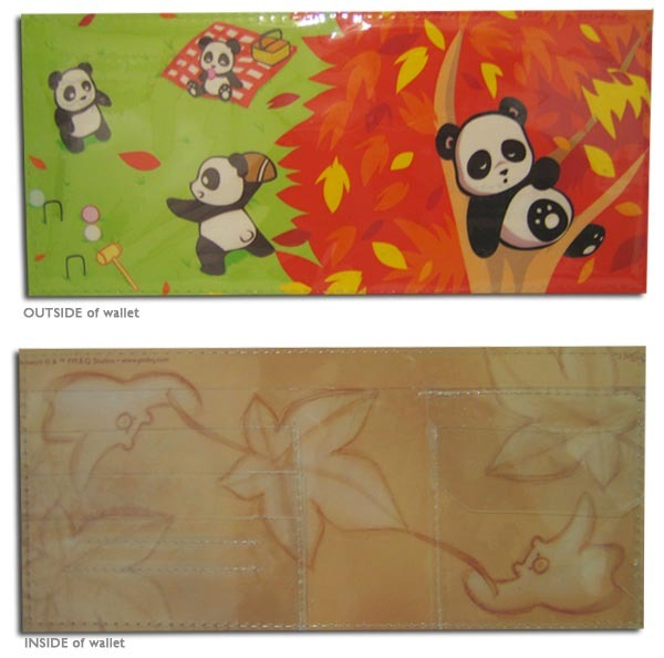 Wallet - Autumn Panda Park