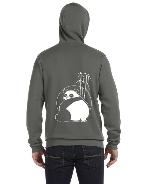 Big Butt Panda Unisex Zip Up Hoodie - Limited Edition