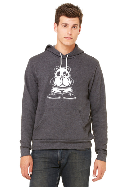 Boxing Panda Pullover Hooded Sweatshirt