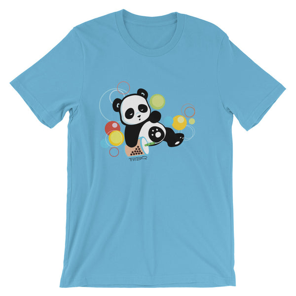 Sleepy Boba Panda Men's/Unisex T-Shirt