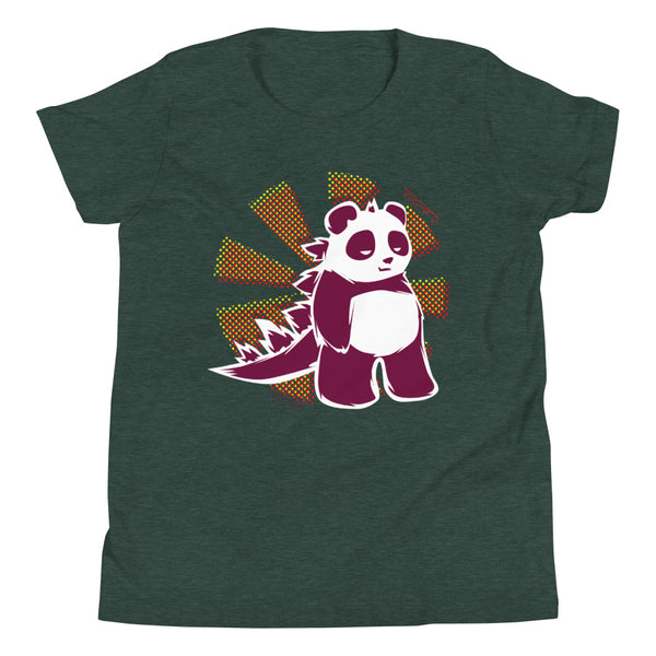 Pandazilla 2020 Youth T-shirt, Heather Forest