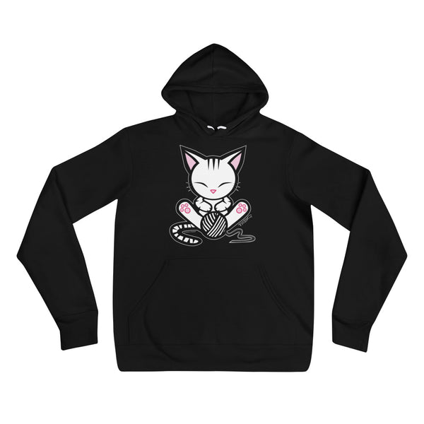 Stripe the Kitten Cozy Unisex Hoodie