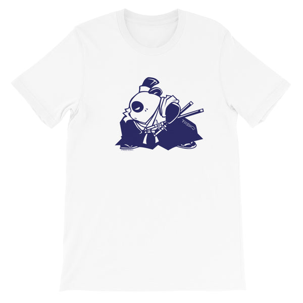 Samurai Panda Blue Men's/Unisex T-Shirt