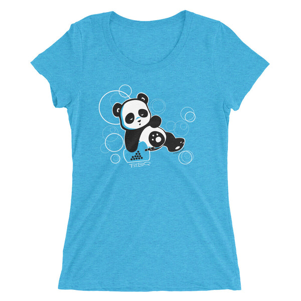 Sleepy Boba Panda v.2 Women's T-shirt