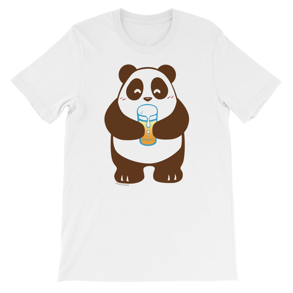 Sparkling Apple Juice Panda Men's/Unisex T-shirt