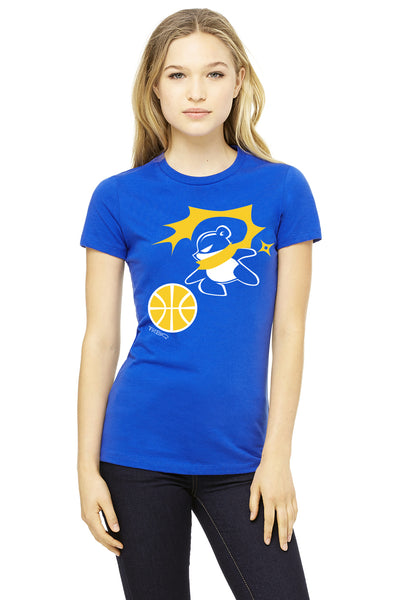 Ninja Panda Golden State Warrior Women's T-shirt