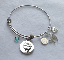 Cat Charm Bracelet - Crazy Cat Lady
