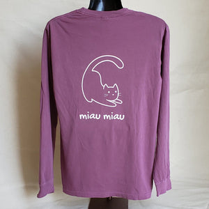 Long Sleeve T-shirt (Adult) - Berry