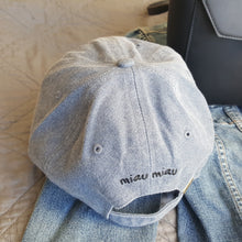 Baseball Cap - Denim