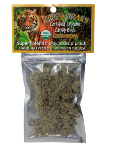 Tiger Grass Certified Organic Bud Bag (catnip)