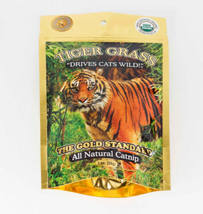 Cat Nip - Tiger Grass 1oz Foil Bag