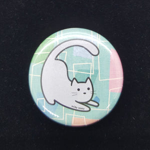 Cat Button - Retro #2