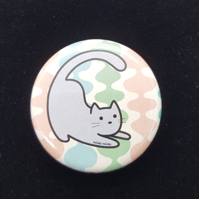 Cat Button - Retro #3
