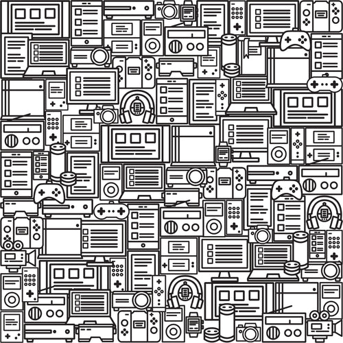 There's a Book (Very Well) Hidden in this Sea of Gadgets. Can You Find it?