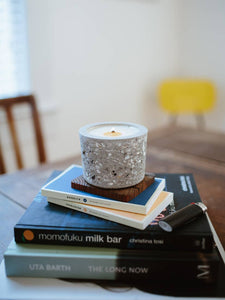 "Concrete Candle ""Lowcountry Tabby"""