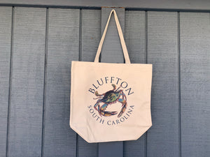 Bluffton Crab Tote Bag