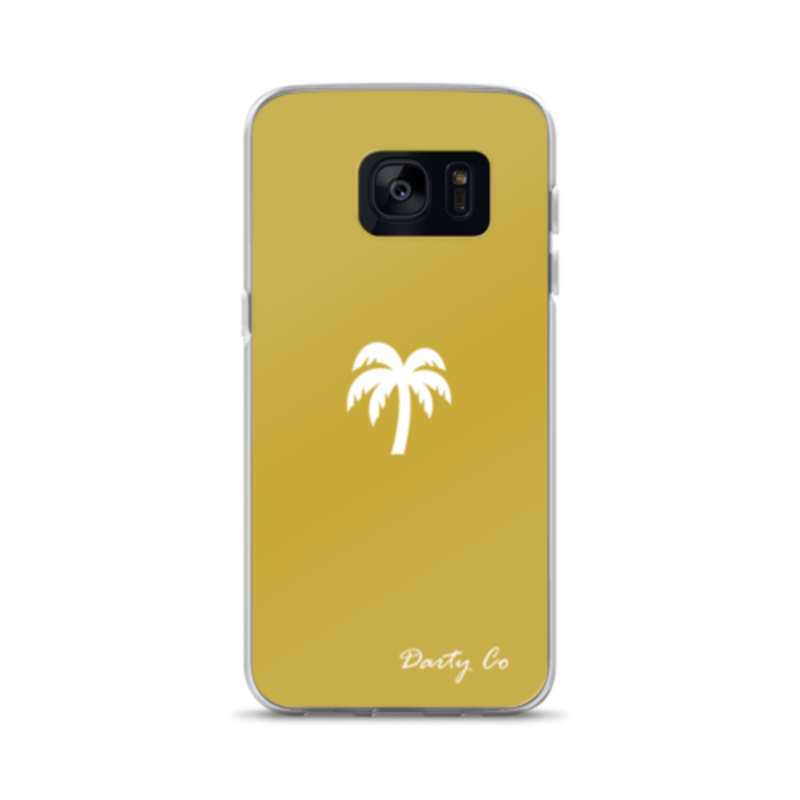 GOLD DARTY CO. PALM TREE Cell Phone Cases - Darty Co.®