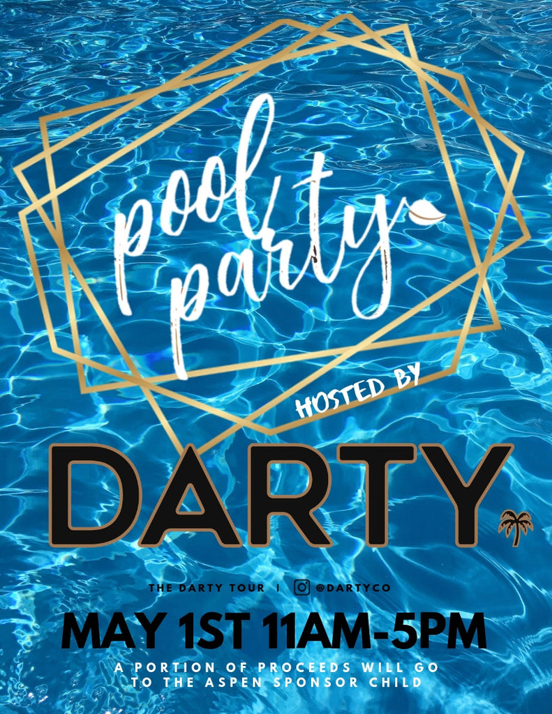 Exclusive Package (Includes DARTY T-Shirt) - Coastal Carolina Pool Party at Aspen Heights (May 1st)